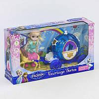 Карета DN 843 FZ-1 (48/2)  с куклой, свет, звук, в коробке