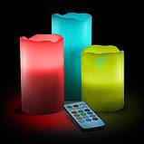 Ночник 3 свечи Luma Candles Color Changing, фото 3