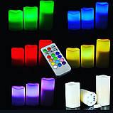 Ночник 3 свечи Luma Candles Color Changing, фото 4