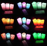 Ночник 3 свечи Luma Candles Color Changing, фото 5