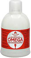 Kallos Kjmn Omega шампунь для волос востановливающий с комплексом Омега-6 1000мл
