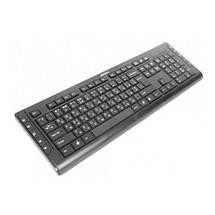 Клавиатура A4tech KD-600, черная, клавиатура USB X-Slim, мультимедийная, фото 2