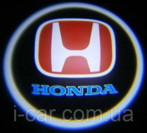 Проекція логотипу автомобіля HONDA