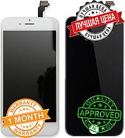 Дисплейный модуль для iPhone 6 plus Tianma копия (LCD экран, тачскрин, стекло в сборе) white+ black