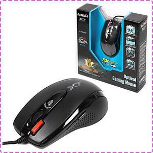 Ігрова мишка A4Tech X7 X-718BK, USB геймерська миша а4теч oscar Х7 для комп'ютера, пк, ноутбука