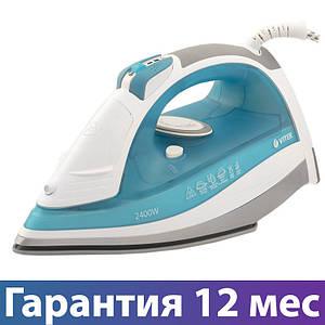 Праска Vitek VT-1258, 2400 Вт, антипригарне покриття, сикавка, відпарювання, паровий удар, антикапля