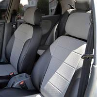 Чехлы на сиденья Peugeot Partner 2012-2015 из Экокожи (Союз АВТО), передние (1+2) Пежо Партнер