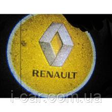 Проекція логотипу автомобіля RENAULT