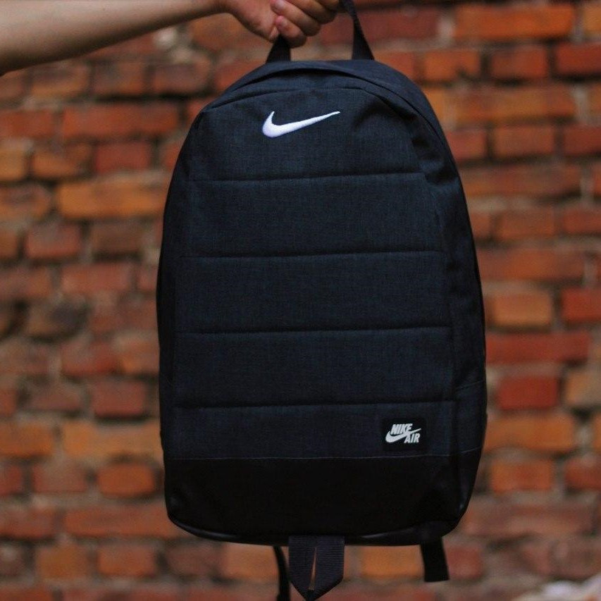 Городской,спортивный, стильный рюкзак Nike Air 20л - Черный - Реплика