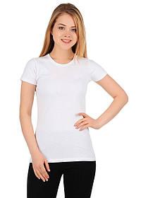 Легкая белая женская футболка «Fruit of the Loom»