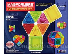 Магнітний конструктор Magformers Базовий Супер 3Д набір, 30 елементів 714002 ОРИГІНАЛ Розпродаж