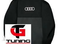 Чехлы на сидения Audi 80 1986 - 1995 (с горбами) (Prestige)