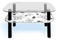 Журнальный стеклянный стол - модель K569