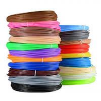 Набор пластика для 3D ручки PLA 120 метров 12 цветов FL-1220, КОД: 1455315