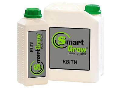 Удобрение SmartGrow ЦВЕТЫ регулятор роста для цветения Смарт Гроу (1 л)
