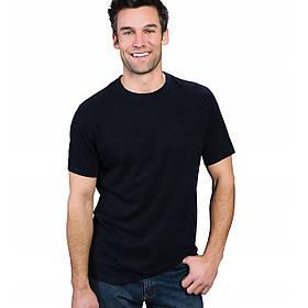 Легкая черная мужская футболка «Fruit of the Loom»