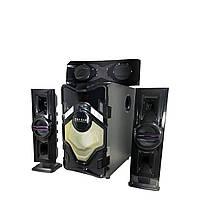Музыкальный центр 60ВТ, акустика 3.1. Качественный звук. Отличные басы(T3L)