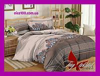 Полуторный комплект постельного белья из хлопка Полуторний комплект постільної білизни 1.5-спальный S223