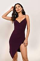 Женское бордовое легкое платье Vionore, оригинал, designed by USA, все размеры в наличии