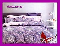 Полуторный комплект постельного белья из хлопка Полуторний комплект постільної білизни 1.5-спальный S265