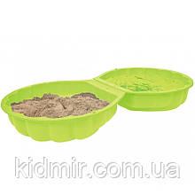 Пісочниця ракушка зелена Big 7723