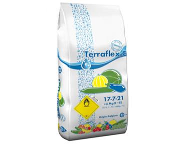 Удобрение Terraflex - C 17-7-21+3MgO+TE (Терафлекс для огурцов, кабачков, баштанных культур) / 25 кг