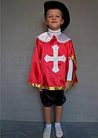 Карнавальний костюм Мушкетер №2 (червоний), фото 1