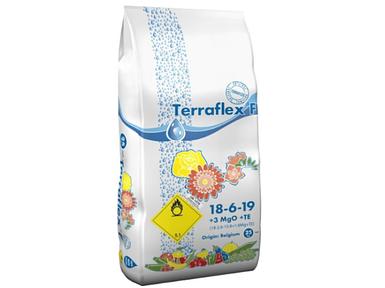 Удобрение Terraflex F 18-6-19+3MgO+TE (Терафлекс для цветов и газона) / 25 кг