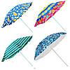 Зонт пляжный от солнца STENSON 1.8 м складной зонтик для пляжа (пляжна парасоля складна для пляжу від сонця)