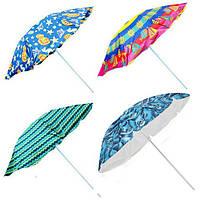 Зонт пляжный от солнца STENSON 1.8 м складной зонтик для пляжа (пляжна парасоля складна для пляжу від сонця), фото 1