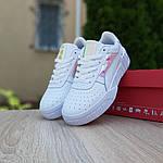 Жіночі кросівки Puma Cali (біло-перломутровые) 20156, фото 7