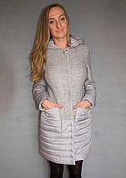 Пальто жіноче №50 (світло-сірий)