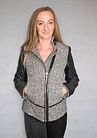 Пальто жіноче №53 (сірий), фото 1