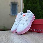 Жіночі кросівки Puma Cali (біло-рожеві) 20158, фото 4