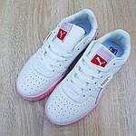 Жіночі кросівки Puma Cali (біло-рожеві) 20158, фото 7
