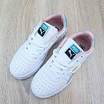 Жіночі кросівки Puma Cali (біло-пудрові) 20159, фото 7