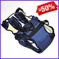 Рюкзак кенгуру №12 для новорожденных, рюкзак переноска для детей слинг, сумка для малыша кенгуру темно-синий