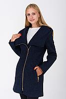 Пальто жіноче №46/1 (синій) Nick, фото 1