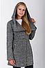 Пальто жіноче №46/1 (сірий)