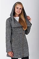 Пальто жіноче №46/1 (сірий), фото 1