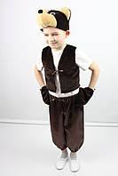 Карнавальный костюм Мишка №2 (шоколад), фото 1