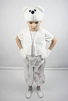 Карнавальный костюм Мишка №2 (белый), фото 1