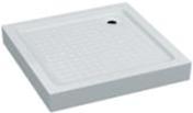 Акриловый квадратный душевой поддон VIVIA  ARDEN мелкий 5 см 90*90