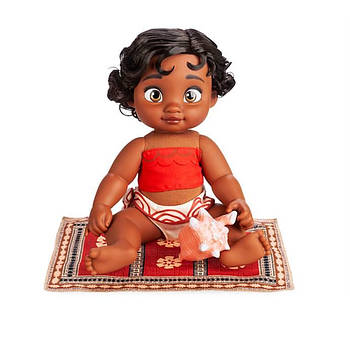 Кукла Малышка Моана Ваяна аниматор Дисней