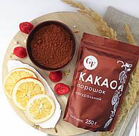 Натуральный и алкализированный какао-порошок