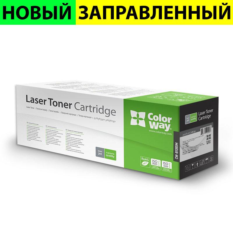 Картридж Brother TN1095, Black, DCP-1602/1622, HL-1202/1222, ресурс 1500 листов, ColorWay (CW-B1095M)