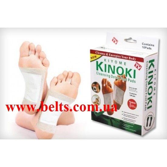 Пластирі на стопи для детоксикації організму Кінокі Kinoki