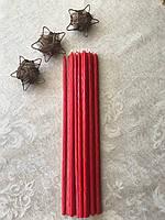 Свечи Ритуальные красные