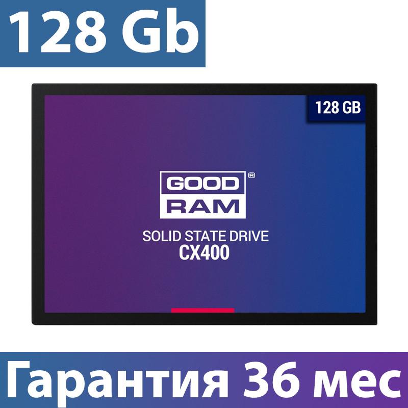 """SSD диск 128 Gb, Goodram CX400, SATA 3, 2.5"""", 3D TLC, 550/450 MB/s (SSDPR-CX400-128), ссд для ноутбука"""
