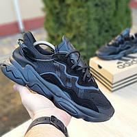 Мужские кроссовки Adidas OZWEEGO (черные) 1958